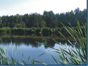 Obrazek przedstawiający zbiornik w Oczyszczalni Ścieków.