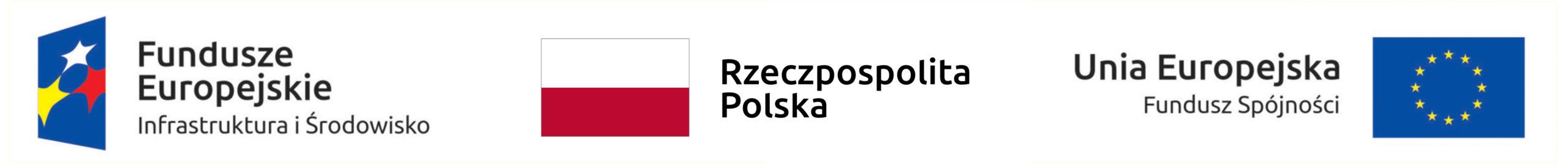Logo Fundusze Europejskie, Flaga Polski, Flaga Unii Europejskiej